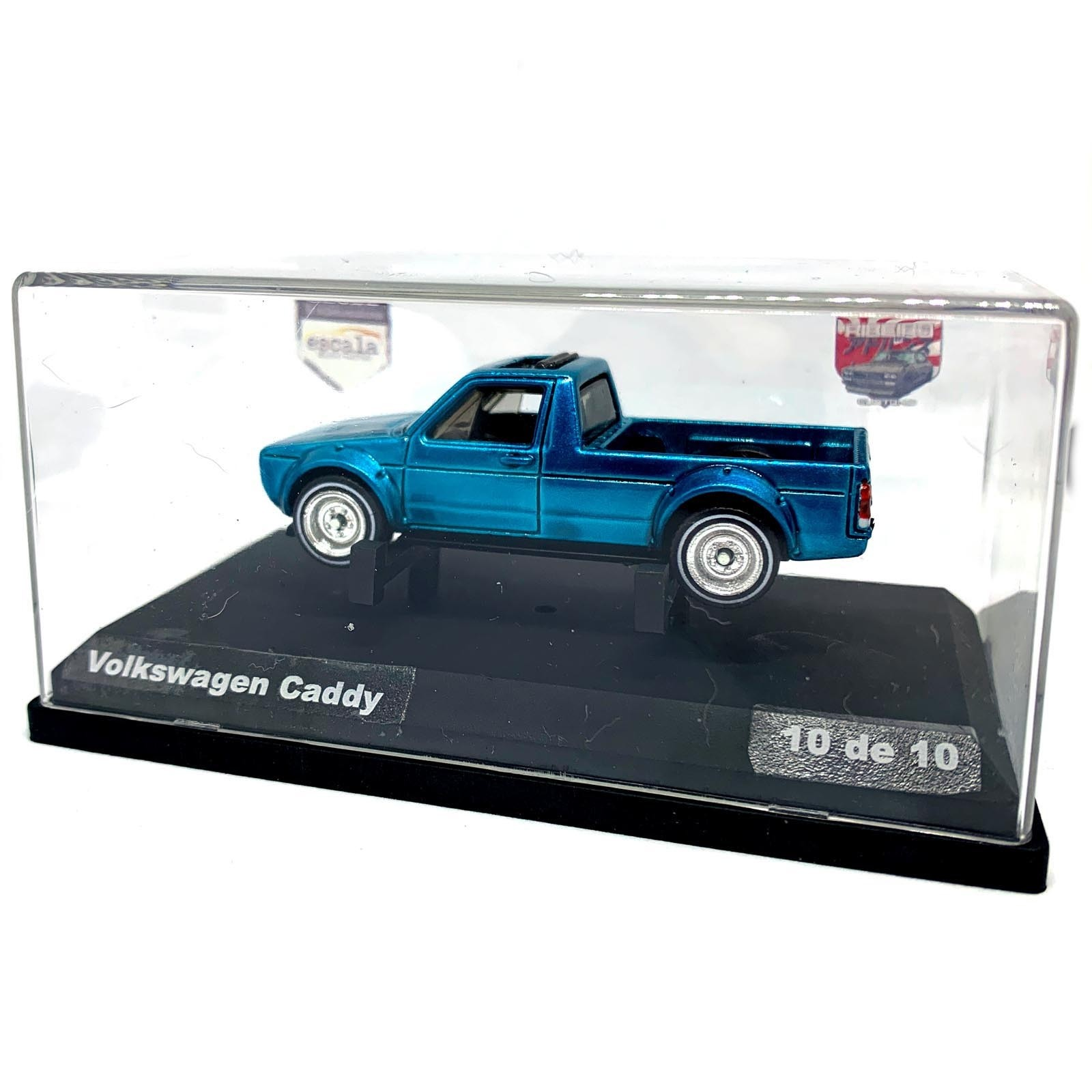 Hot Wheels Customizado Volkswagen Caddy Escala Miniaturas By Mao Na Roda 4x4